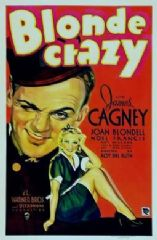 Blonde Crazy 1931 DVD - James Cagney / Joan Blondell
